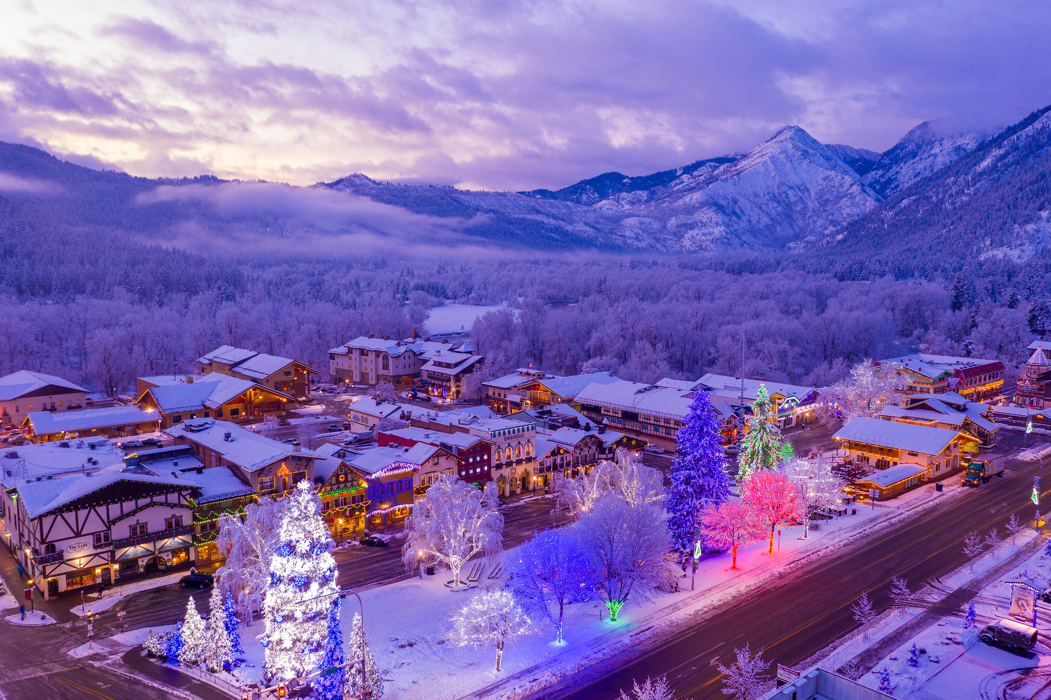 Christmas Lighting Festival Canceled for 2020 | Leavenworth Washington